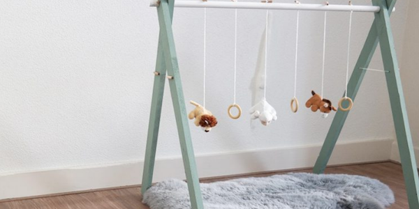Do it yourself: houten babygym